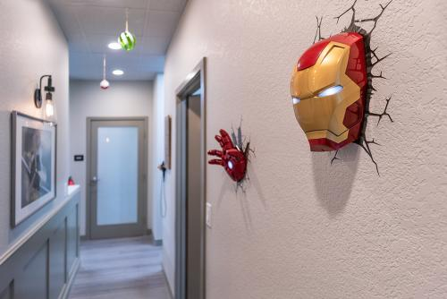 Iron Man on Wall